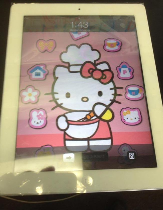 iPad2 with fixed digitizer