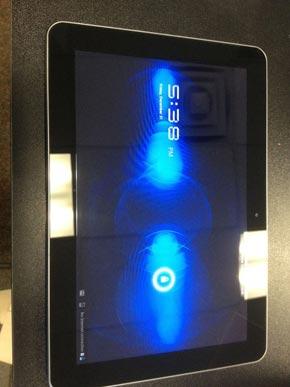 Verizon Samsung tablet with broken screen |