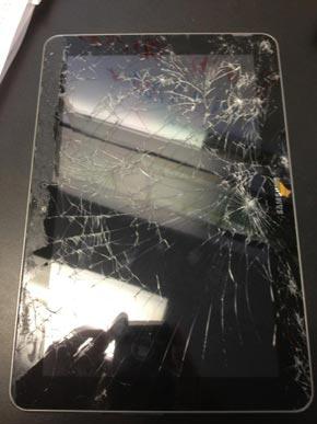 Verizon Samsung Tablet 10.1 with broken screen